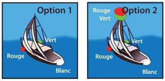 feux de navigation pour voiliers 20 m plus